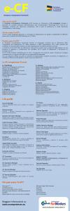 infografica e-cf european e-competence framework