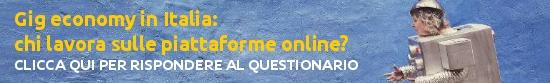 Gig economy in Italia: chi lavora sulle piattaforme online?